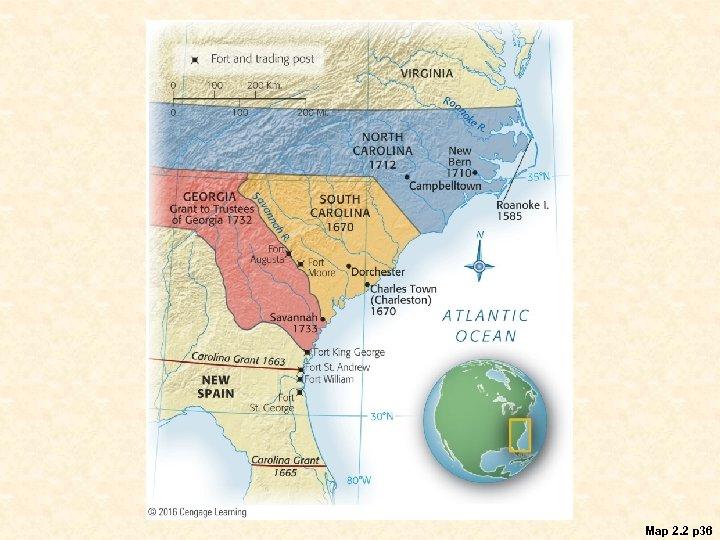 Map 2. 2 p 36