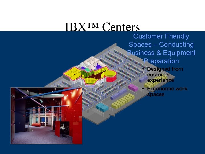 Industry Leading Security IBX™ Centers • 5 security checkpoints to customer equipment • State