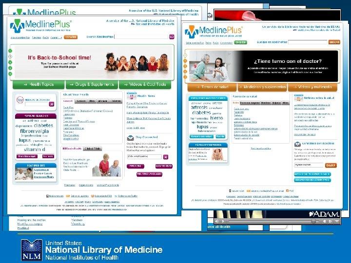 New to Medline. Plus n Mobile n Email updates n Patient handouts n Anatomy