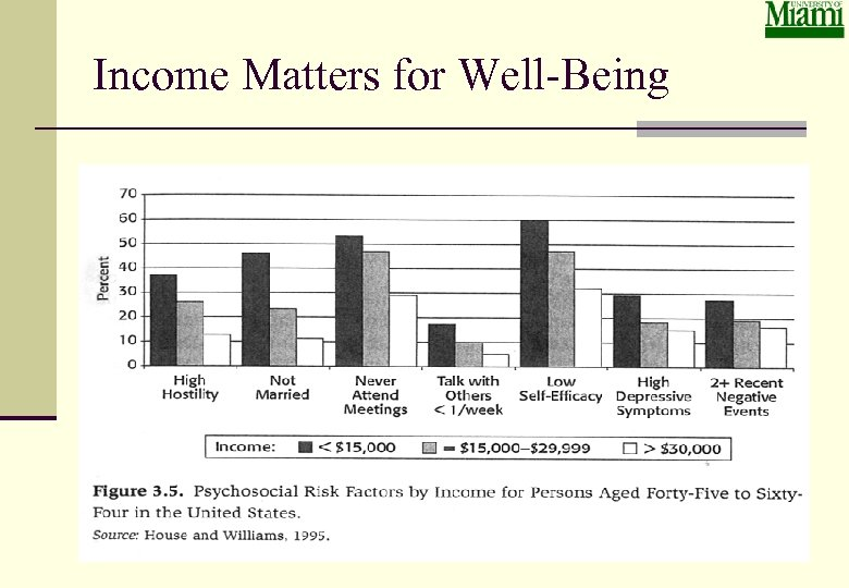 Income Matters for Well-Being