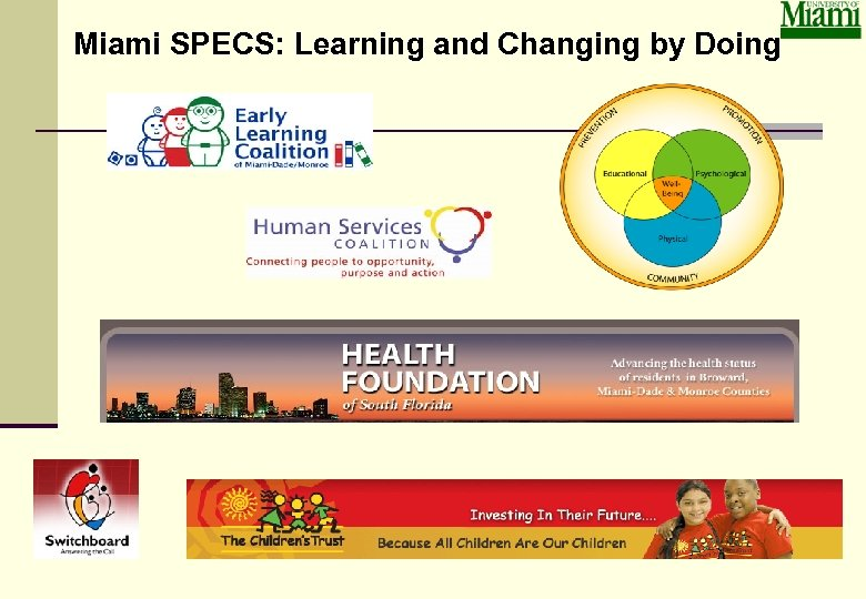Miami SPECS: Learning and Changing by Doing