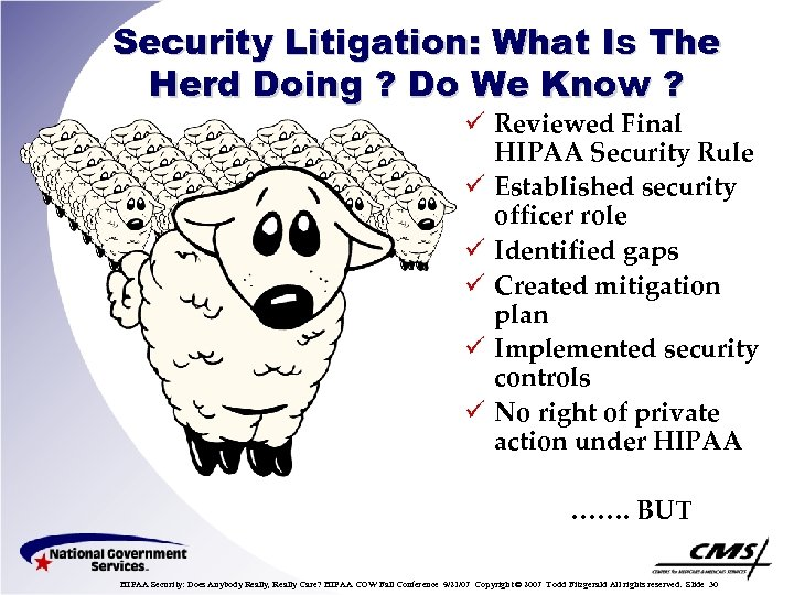 Security Litigation: What Is The Herd Doing ? Do We Know ? ü Reviewed
