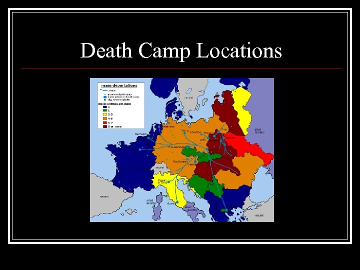 Death Camp Locations