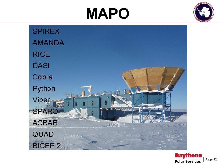 MAPO SPIREX AMANDA RICE DASI Cobra Python Viper SPARO ACBAR QUAD BICEP 2 Page