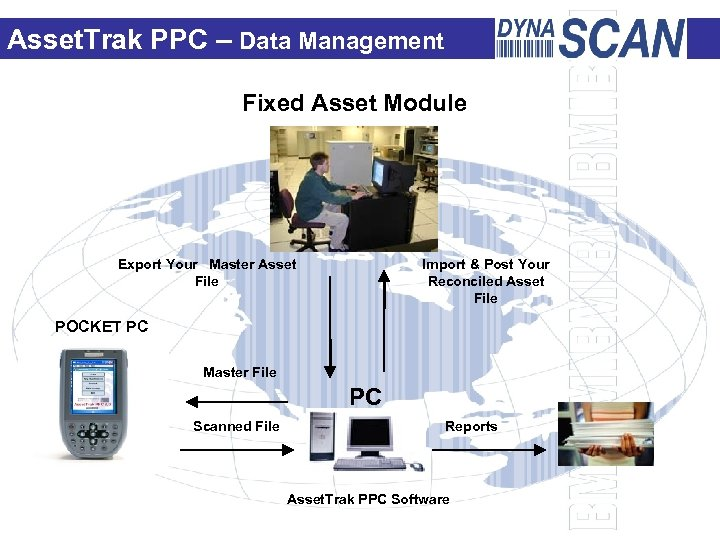 Asset. Trak PPC – Data Management Fixed Asset Module Export Your Master Asset File