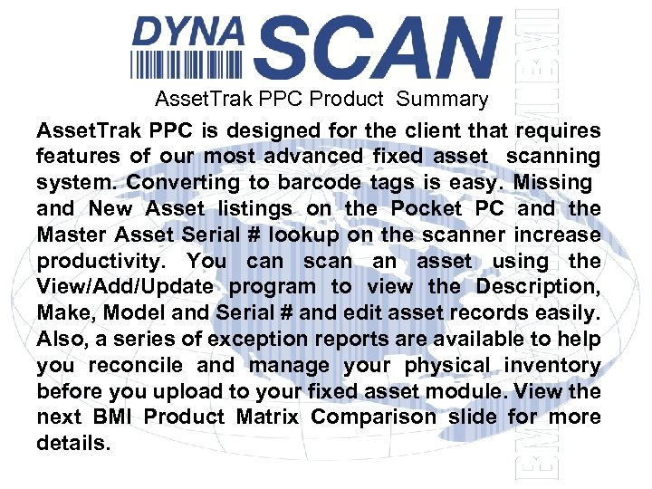 Asset. Trak PPC Product Summary Asset. Trak PPC is designed for the client that