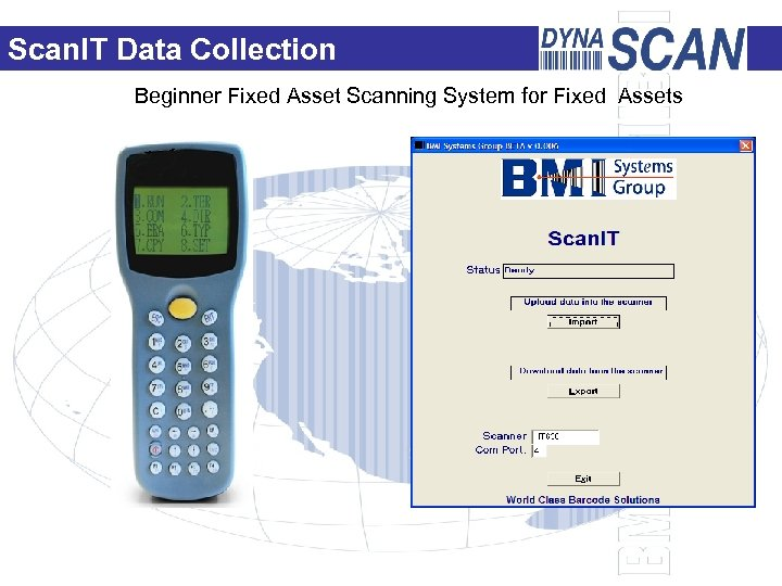 Scan. IT Data Collection Beginner Fixed Asset Scanning System for Fixed Assets