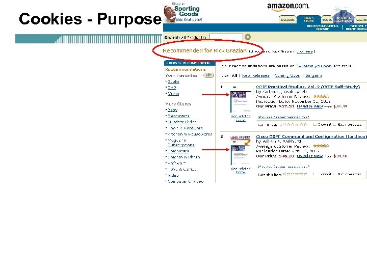 Cookies - Purpose