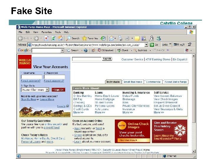 Fake Site