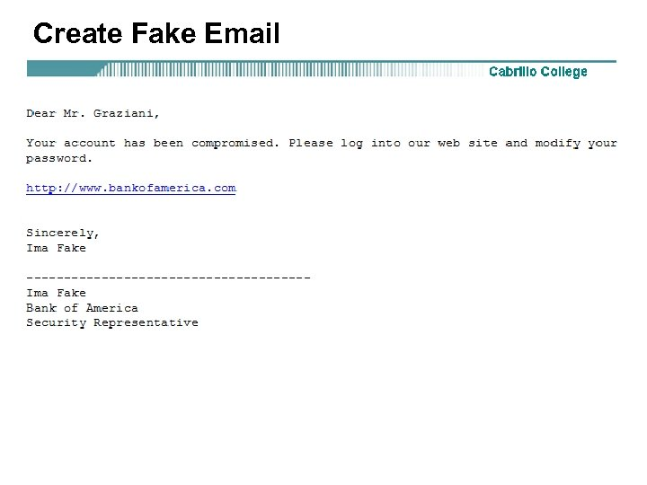 Create Fake Email