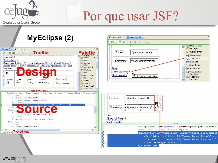 Por que usar JSF? My. Eclipse (2)
