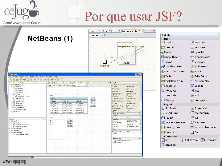 Por que usar JSF? Net. Beans (1)