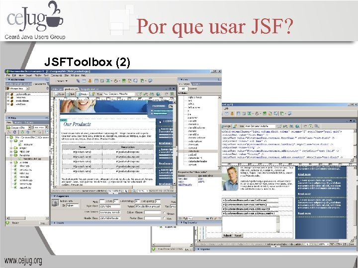 Por que usar JSF? JSFToolbox (2)