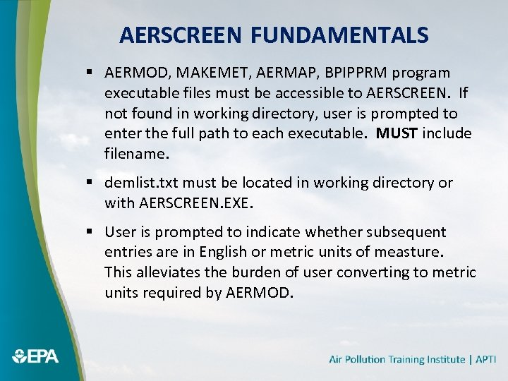 Air Pollution Dispersion Models Applications with the AERMOD