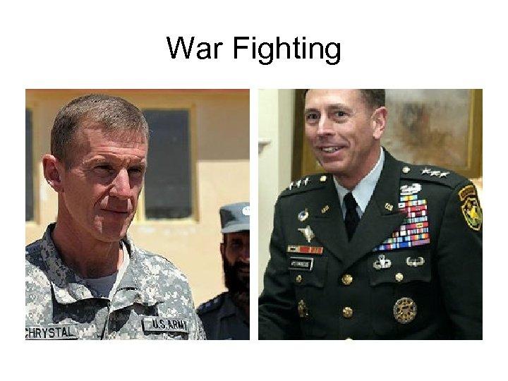 War Fighting