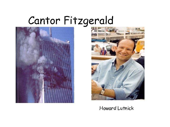 Cantor Fitzgerald Howard Lutnick