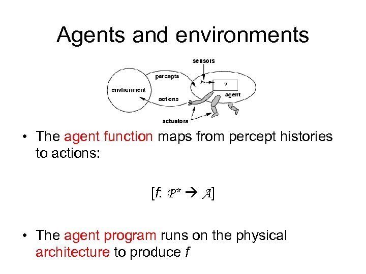 Intelligent Agents Chapter 2 Outline Agents