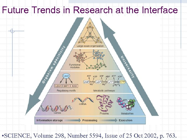 Future Trends in Research at the Interface • SCIENCE, Volume 298, Number 5594, Issue