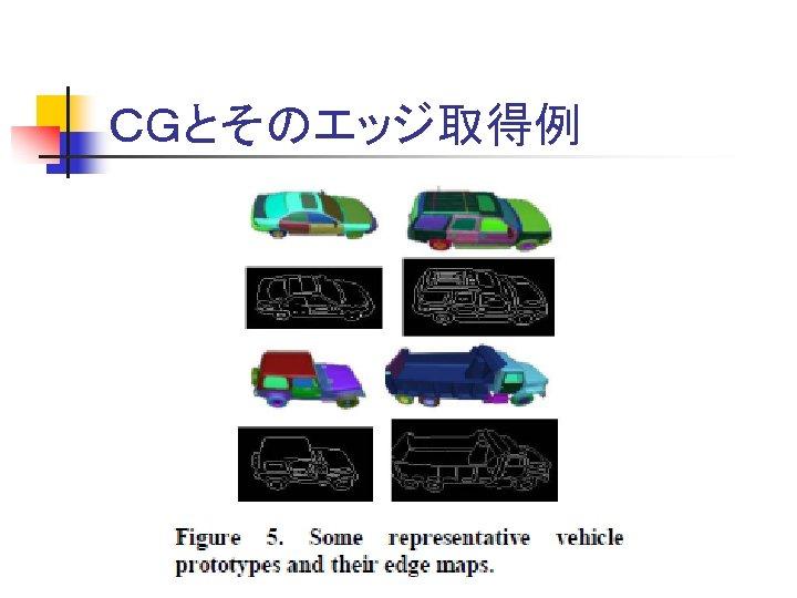 CGとそのエッジ取得例