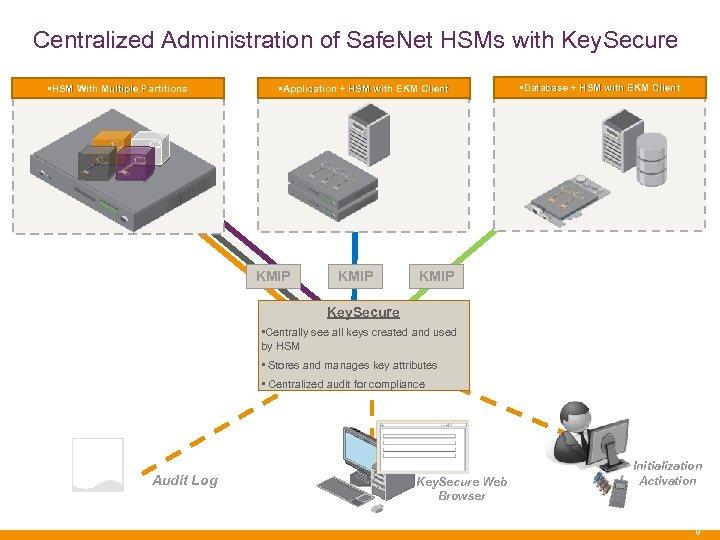 Safe Net Key Secure with Luna HSM Management