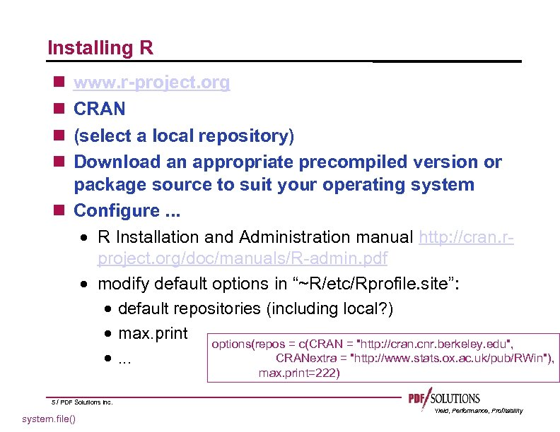 creating r packages using cran r forge and local rh present5 com RV Toilets Installation Diagrams Gutter Installation Guide