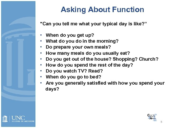 Asking About Function