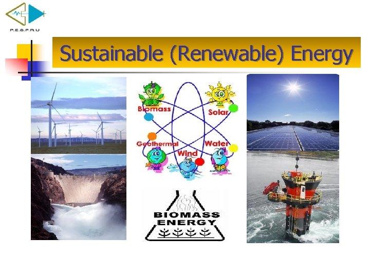 Sustainable (Renewable) Energy