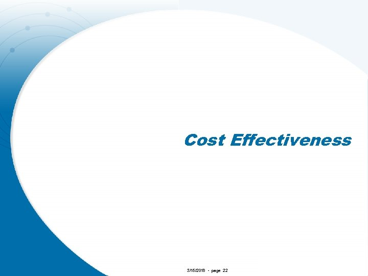 Cost Effectiveness 3/15/2018 - page 22
