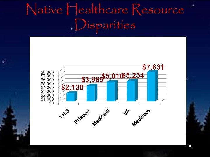 Native Healthcare Resource Disparities 10