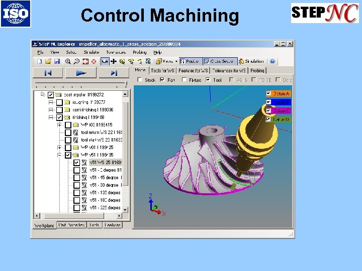 Control Machining