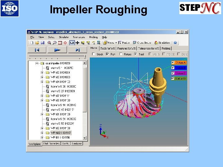 Impeller Roughing
