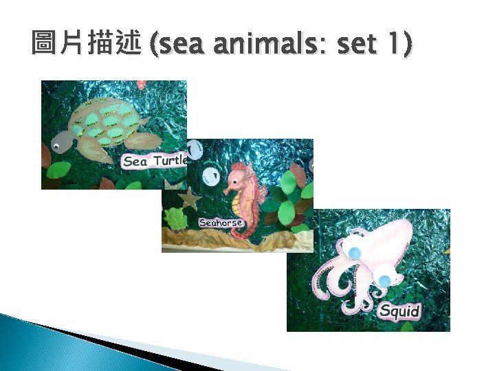 圖片描述 (sea animals: set 1)