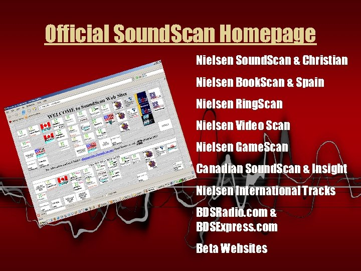 Official Sound. Scan Homepage Nielsen Sound. Scan & Christian Nielsen Book. Scan & Spain