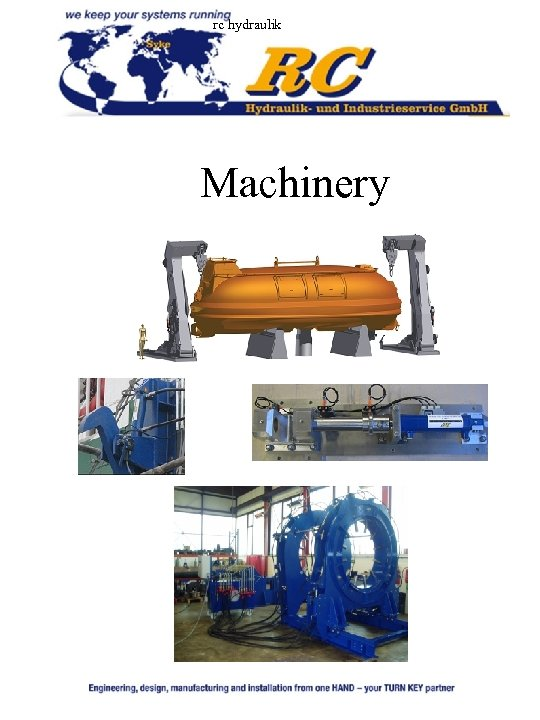 rc hydraulik Machinery