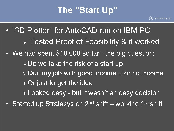 """The """"Start Up"""" • """" 3 D Plotter"""" for Auto. CAD run on IBM"""