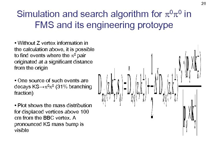 26 Simulation and search algorithm for p 0 p 0 in FMS and its