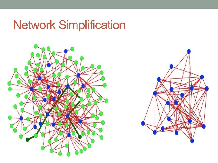 Network Simplification