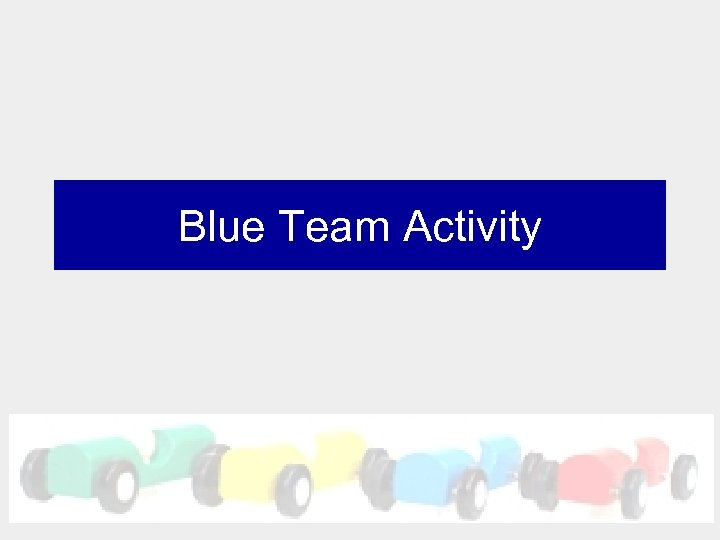Blue Team Activity