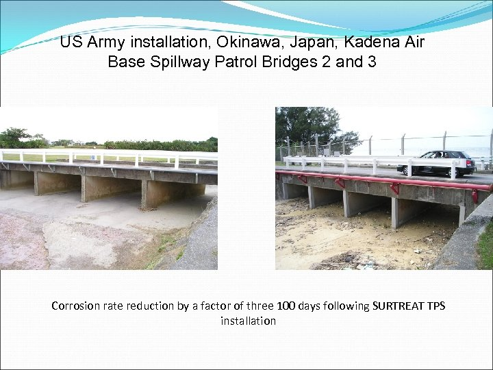US Army installation, Okinawa, Japan, Kadena Air Base Spillway Patrol Bridges 2 and 3