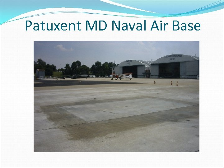 Patuxent MD Naval Air Base