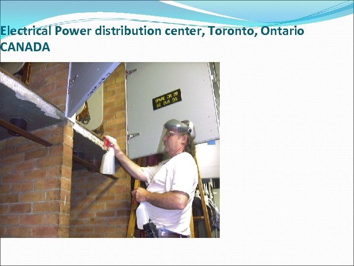 Electrical Power distribution center, Toronto, Ontario CANADA