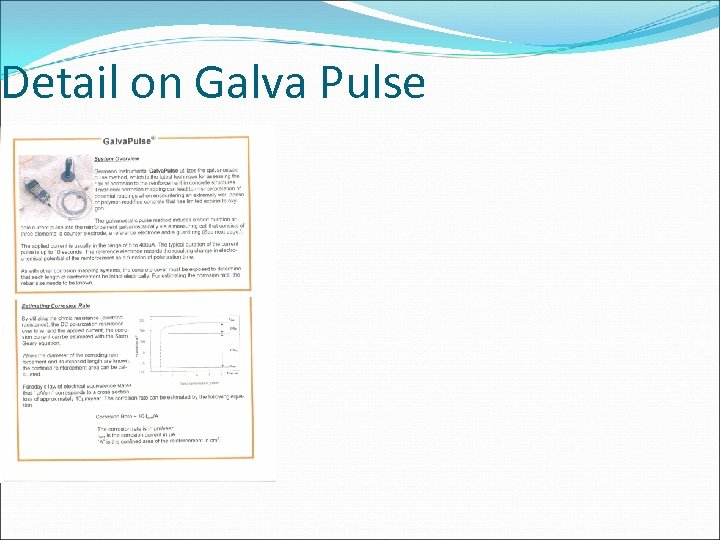 Detail on Galva Pulse