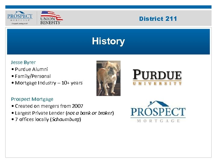 Improve Your 211 District Credit Score History Jesse Byrer • Purdue Alumni • Family/Personal
