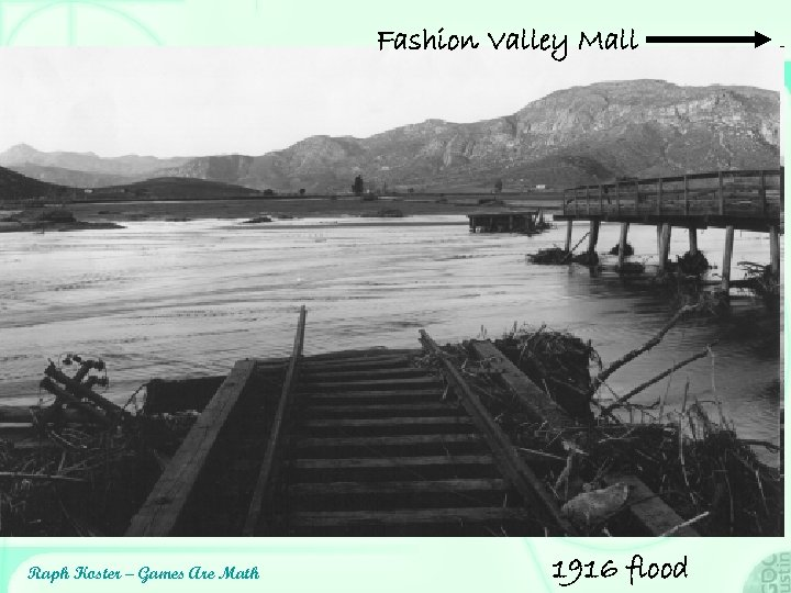 Fashion Valley Mall Raph Koster – Games Are Math 1916 flood