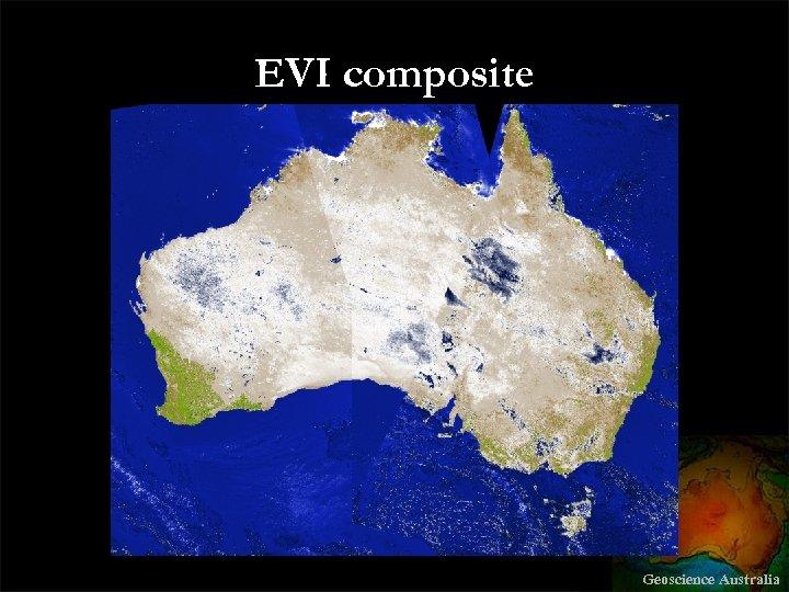 EVI composite Geoscience Australia