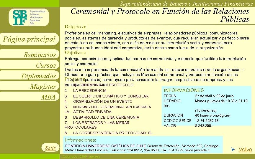 Superintendencia de Bancos e Instituciones Financieras Ceremonial y Protocolo en Función de las Relaciones