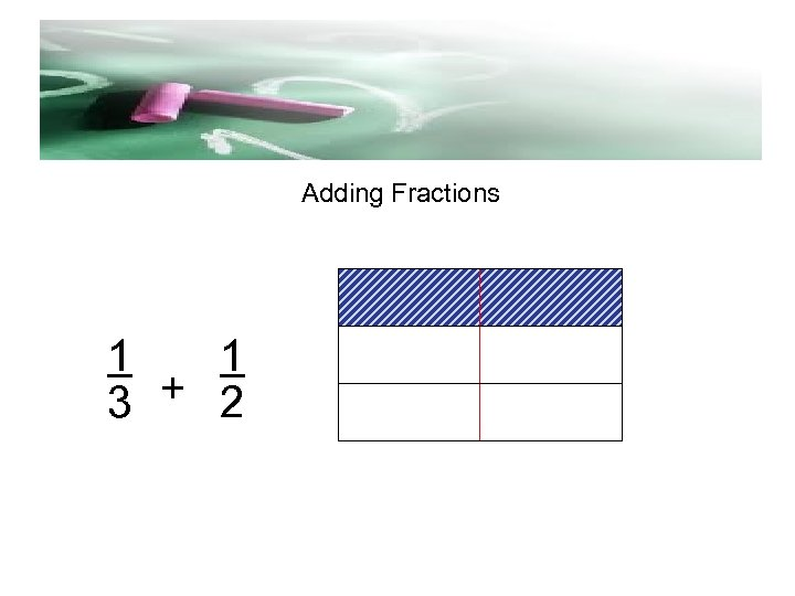 d Adding Fractions 1 1 3 + 2