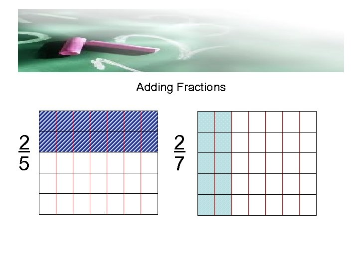 d Adding Fractions 2 5 2 7