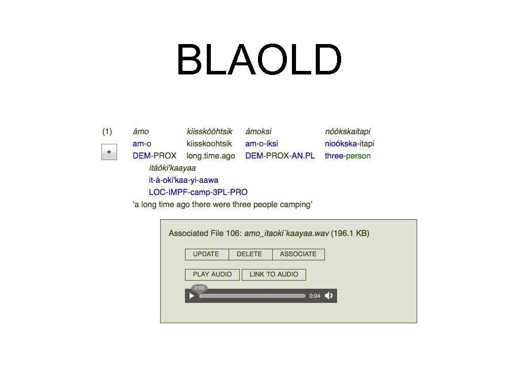 BLAOLD