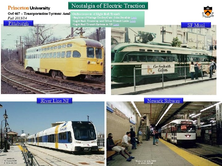 Nostalgia of Electric Traction Orf 467 – Transportation Systems Analysis Online sources of Light